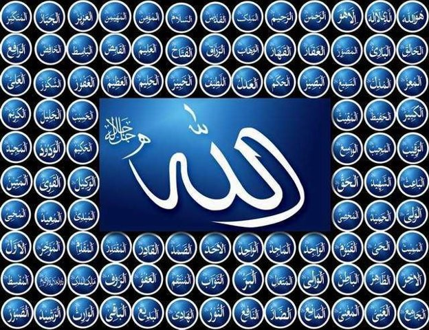 Asma'ul Husna Nama Nama ALLAH SWT yang Baik & Indah